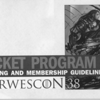 Norwescon 38 Planning and Membership Guidelines Pocket Program Cover