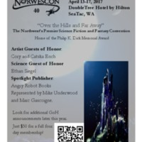 Norwescon 40 Flyer 2