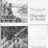 Norwescon 39 Pocket Program Covers
