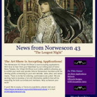 Norwescon 43 October 16 Newsletter