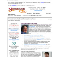 Norwescon 32 September 10 Newsletter