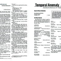 Temporal Anomaly (Sunday)