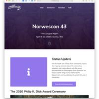 Norwescon 43 Website