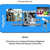Norwescon 27 Website