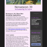 Norwescon 39 October 15 Newsletter