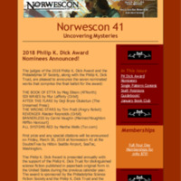 Norwescon 41 January 14 Newsletter