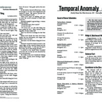 Temporal Anomaly (Saturday)