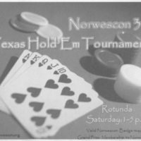 Norwescon 34 Poker Tournament Flyer