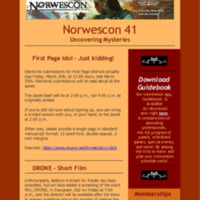 Norwescon 41 March 24 Newsletter