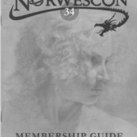 Norwescon 34 Membership Guide Cover