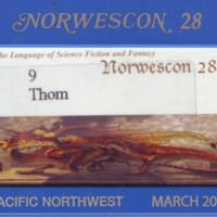 Norwescon 28 Badge