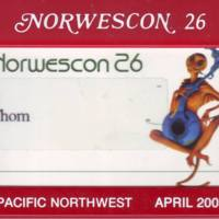 Norwescon 26 Badge