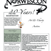 Norwescon 40 Daily Zine (Sunday)