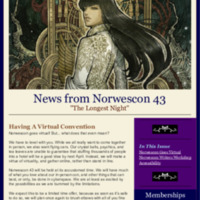 Norwescon 43 October 2 Newsletter