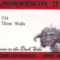 Norwescon 21 Badge