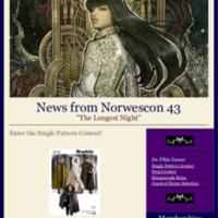 Norwescon 43 December 1 Newsletter