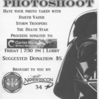 Norwescon 34 501st Legion Photoshoot Flyer