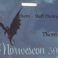 Norwescon 39 Badge