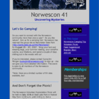 Norwescon 41 June 15 Newsletter