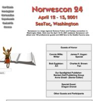 Norwescon 24 Website