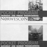 Norwescon 38 Programming Pocket Program Covers