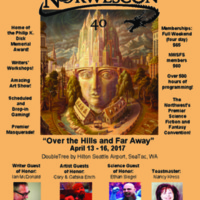 Norwescon 40 Flyer 1