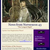 Norwescon 43 December 23 Newsletter