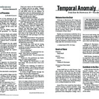 Temporal Anomaly (Thursday)