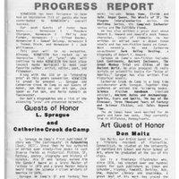 Norwescon 7 Progress Report